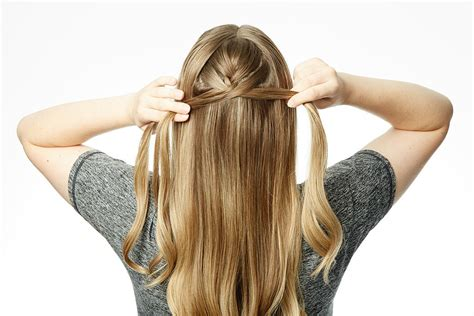 how to section hair for braids cage braid how to popsugar beauty australia