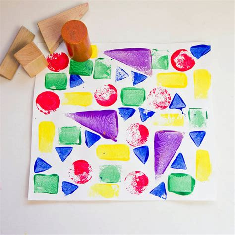 little family fun shape house educational craft 25 of the best toddler crafts for little hands