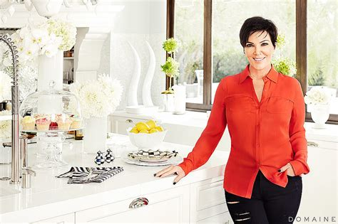 Kris Jenner Home Decor by Kris Jenner S Black And White Kitchen The Megamansion