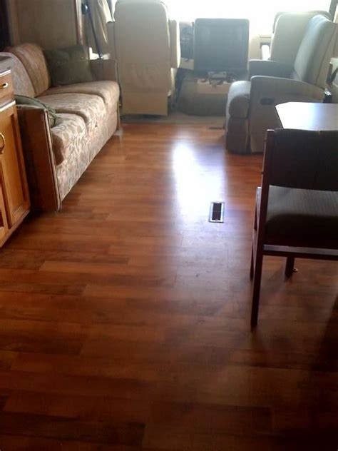 sofa slides on hardwood floor wood flooring for rv with slide rv open roads forum