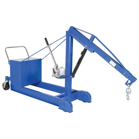 vestil 1 000 lb capacity counter balanced floor crane