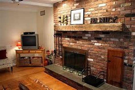 Paint Ideas Living Room Brick Fireplace