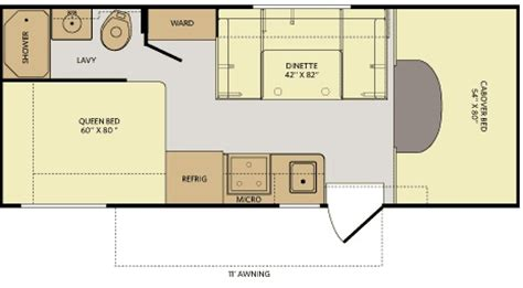 rv floor plans class c class c motorhomes floor plans gurus floor