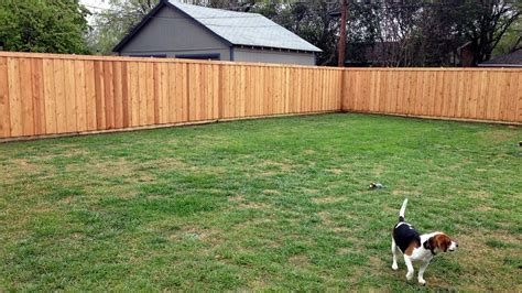 How Much Cost Fence Backyard Our Adventure Building A Western Red Cedar Privacy Fence