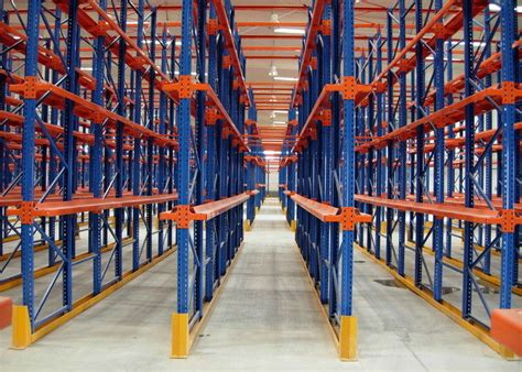 Drive In Drive Through Racking System by Drive Thru Rack Bullion Industrial Service