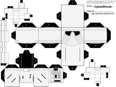 Wars Papercraft Templates by Custom Wars Cut Out Templates Of Paper Toys I Ve Made