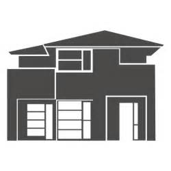 House Plans Online Design Modern House Silhouette 2 Transparent Png Svg
