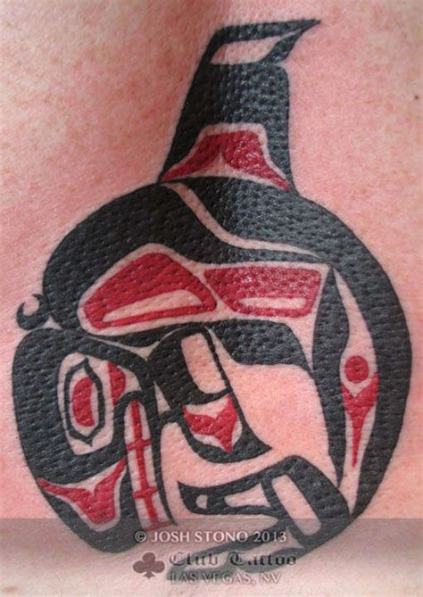 joshstono black and red alaska tribal