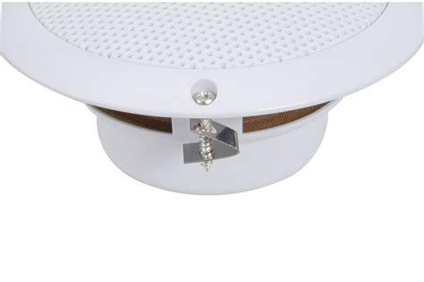Speakers For Bathroom Ceiling 2x Waterproof Bathroom Kitchen Patio Ceiling Speakers 13cm 5 Quot 80w Max 8 Ohms Ebay