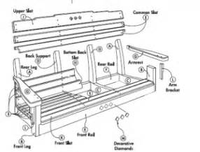 download free wood porch swing plans pdf fun carpentry projects diywoodplans