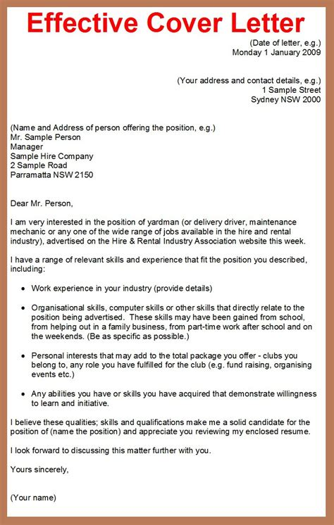 Example Of A Good Cover billing clerk cover letter outline