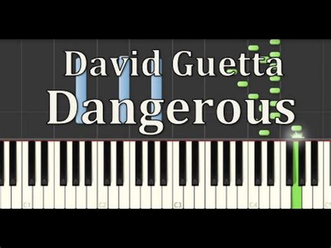 tutorial piano dangerous how to play dangerous david guetta synthesia tutorial