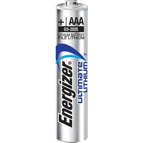 Energizer Advanced Aa aaa battery lithium energizer ultimate lr03 1250 mah from