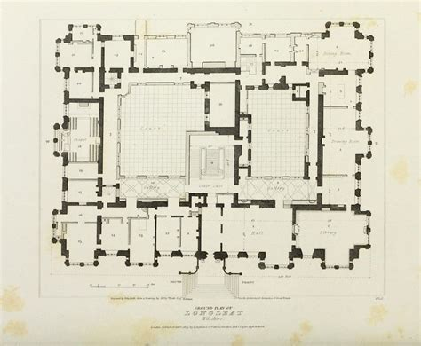 burghley house floor plan floor plan of longleat house wiltshire longleat house pinterest ground floor floor plans