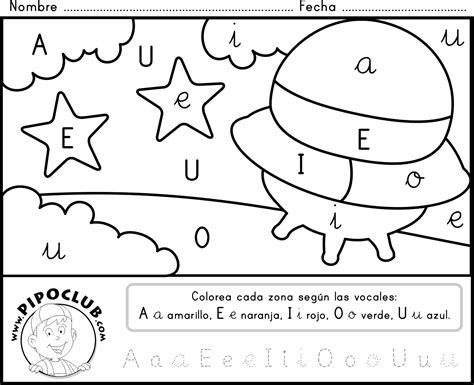 imagenes para colorear que inicien con las letras del abecedario letras
