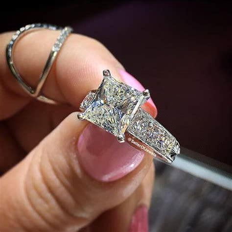 21  Vintage Princess Cut Engagement Ring Designs, Trends, Models   Design Trends   Premium PSD