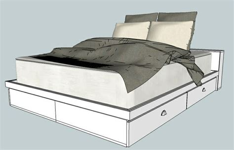 build your own platform bed how to build queen platform bed with storage joy studio design gallery best design