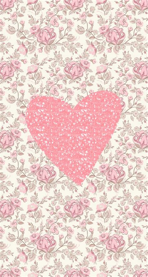 wallpaper whatsapp cantik wallpapers pink hearts and heart on pinterest