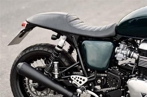 Motorrad Heckumbau Sterreich by Triumph Thruxton Umbau Modellnews