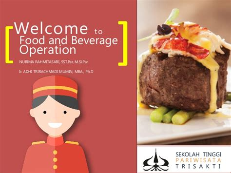 Food And Beverage Service Operational Preparation food and beverage operation