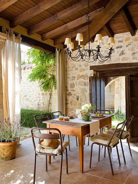 Patio Furniture Spain by Restored Schoolhouse In Spain Home Bunch Interior Design