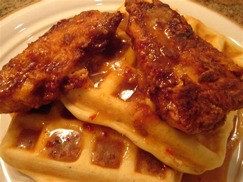 and chicken chicken and waffles recipe dishmaps