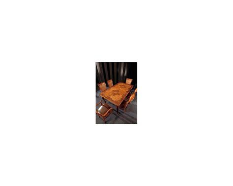 tavolo intarsiato tavolo rettangolare allungabile intarsiato massello
