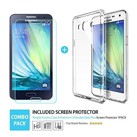 Ringke Fusion Samsung Galaxy A3 2015 Hardcase Back Cover Original ringke fusion bumper for samsung galaxy a3 android