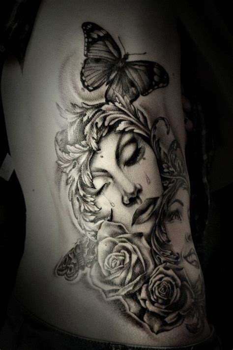 Tattoo Girl Crying | 20 best images about tattoo crying girl on pinterest
