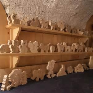 noel en bois creche de noel puzzle a peindre en bois