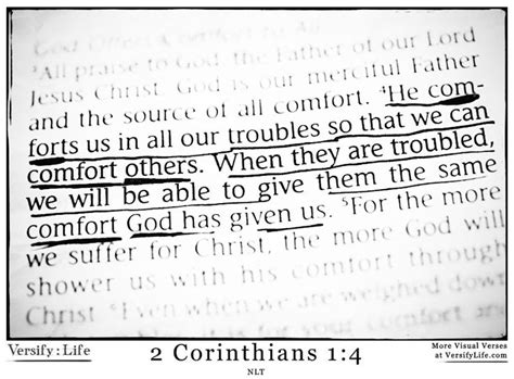 bible verses to give comfort he comforts us in all our troubles so that we can comfort