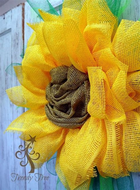 paper mesh flower tutorial yellow sunflower paper mesh tutorial by trendy tree