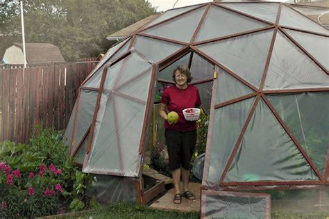 Geodome House Plans Geodesic Dome Greenhouse Even Homedesignpictures