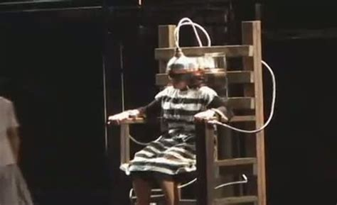 Electric Chair Execution Photos by Machinal Play Electric Chair Repost Themiscollection