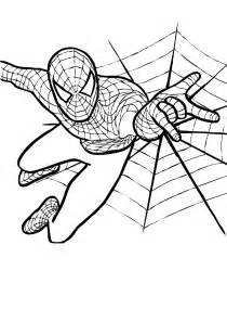 halloween spider man coloring coloring pages