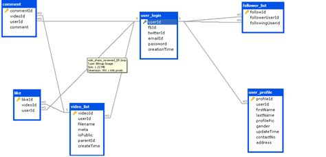 explain er diagram with exle mysql normalization of db database administrators