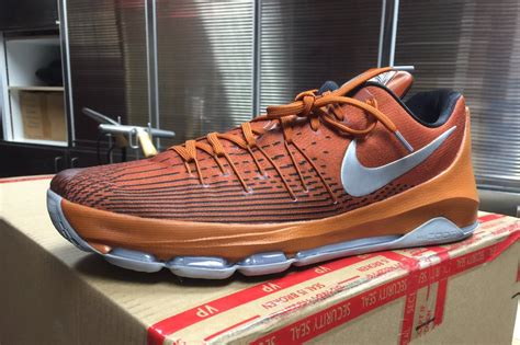 longhorns basketball shoes longhorns basketball gets exclusive nike kd 8s