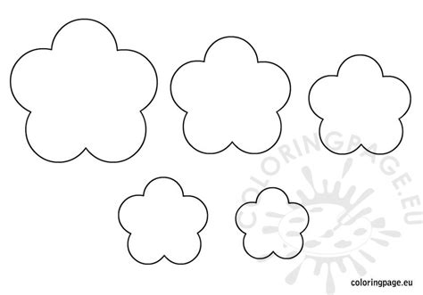 free coloring pages of flower templates