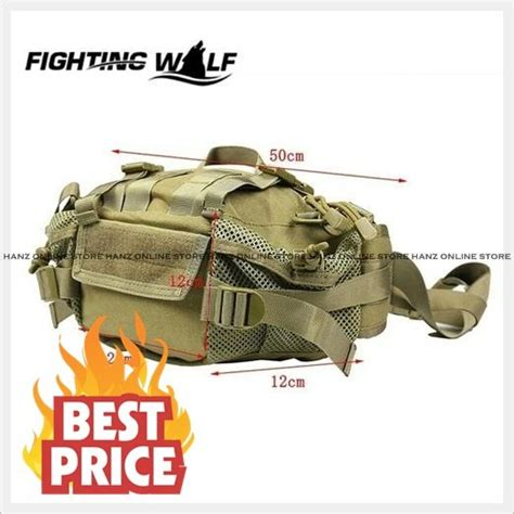 Tas Pinggang T08 Tactical Airsoft Air Soft Murah Berkualitas jual keren tas selempang army series sling bag outdoor tactical airsoft stylish murah