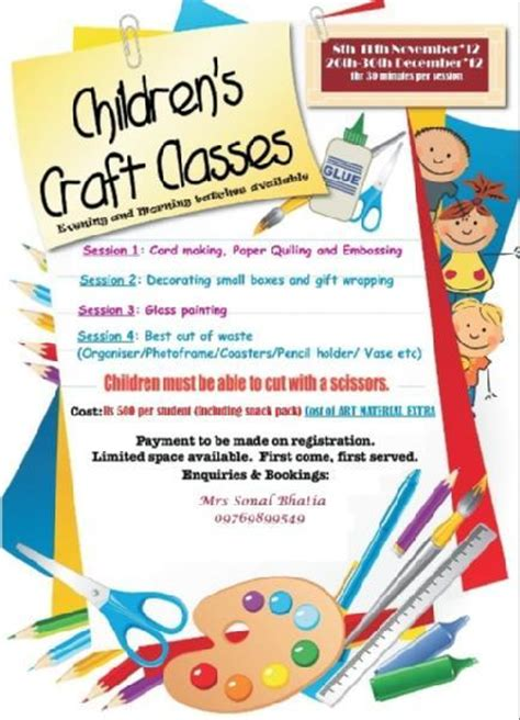 foodle doodle noida sector 3 collection craft classes pictures and craft classes