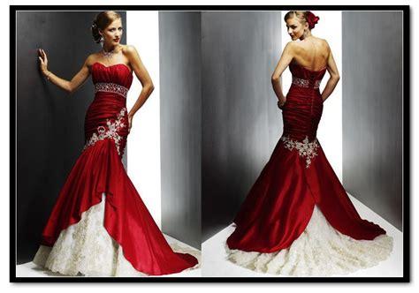 imagenes de vestidos de novia rojo vestidos de novia rojos