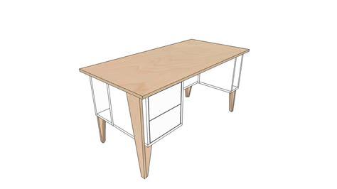 zelf een buro maken bureau zelf maken werktafel zelf maken