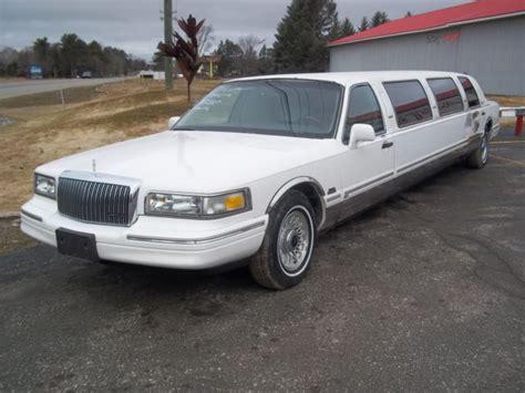 town car limousine 1997 lincoln town car limousine
