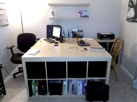 2 person desk ikea 73 best ikea expedit ideas images on pinterest home