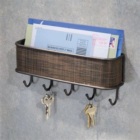 interdesign wall mail letter key holder hook rack hanger
