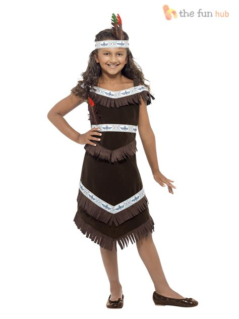 book themed clothing uk girls native red indian fancy dress book week costume