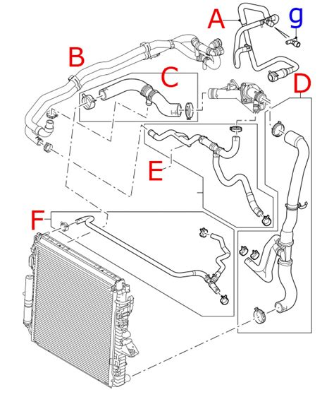 land rover parts diagram land range rover sport lr3 genuine oem radiator coolant hose