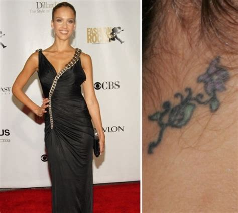 jessica alba wrist tattoo 20 tattoos and meanings