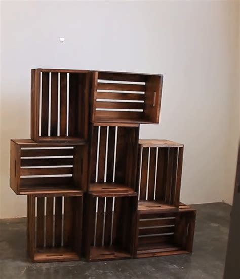 how can a be in a crate crate shelves 25 diys guide patterns