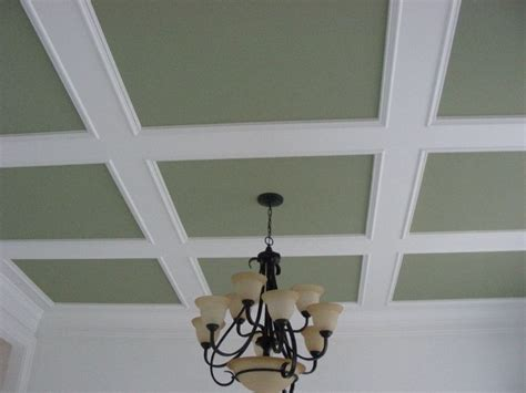 easy coffered ceiling 1000 ideas about ceiling trim on crown